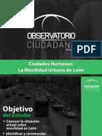 OCL Movilidad Urbana 2014