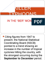 Killer Typhoons in the philippines