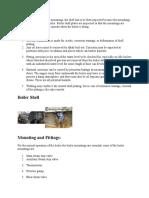 Inspection of Boiler Mountings