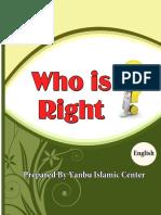 en who is right