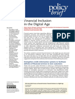 Financial Inclusion in the Digital Age