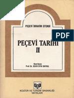 Peçevi İbrahim Efendi - Peçevi Tarihi 2
