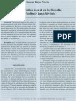 El Imperativo Moral en La Filosofía de Vladimir Jankélévitch