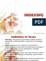Indexing- Library Scinece
