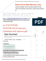50 TOP POWER ELECTRONICS Interview Questions and Answers pdf POWER ELECTRONICS Interview Questions.pdf