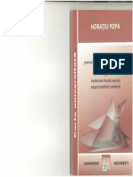 HORATIU POPA- Recomandari Privind Calculul Peretilor de Sustinere a Excavatiilor Adanci Si Evaluarea Riscului Asociat Asupra Mediului Construit