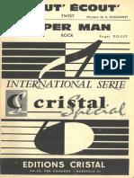 Roger Dollet - Super Man - Rock - Band Sheet Music
