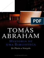 Abraham, Tomás - Historia de una biblioteca. De Platón a Nietzsche - Editorial Sudamericana.pdf