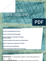 Ethics in Counseling