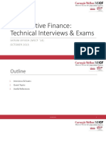 Quant Interview and Exam Prep