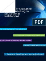 Purpose of Guidance and Counselling in Educational Institutions 3