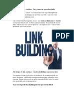 Estratégias de Link Building - Guia Para Criar Novos Backlinks