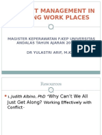 Management conflict in nursing workplaces (1).ppt