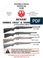 Ruger_1017-1022 Semi Automatic Rifle