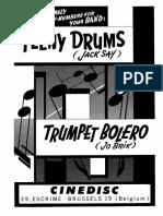 Jo Brik - Trumpet Bolero - Band Sheet Music