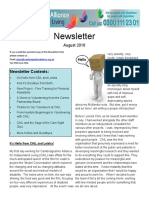 CAIL Newsletter - August 2016