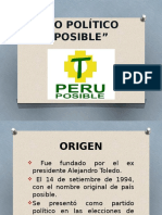 Diapositiiva Peru Posible