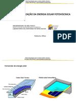 Seminário INCT solar fotovoltaico