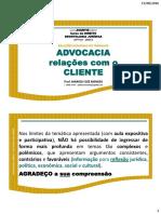 Advogado Cliente