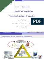 Profissões Ligadas à Informática