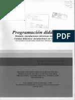 programacion didactica Instalaciones electrotécnicas