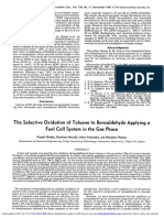The Selective Oxidation of Toluene to Benzaldehyde Applying a Fuel Cell System in the Gas Phase