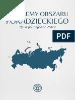 Problemy Obszaru Poradzieckiego 25 Lat Po Rozpadzie ZSRR