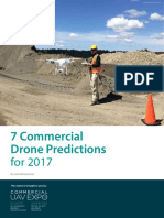 Commercial Drone Predictions for 2017