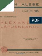 (1941) Alexandru Lăpuşneanu; Sobieţki şi românii [C. Negruzzi].pdf