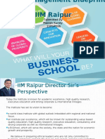 Talent Management Blue Print IIM Raipur