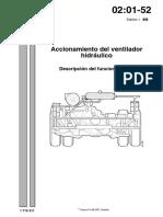 Accionamiento de Ventilador Hidraúlico-Descripcion de Funcionamiento