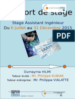 Rapport de Stage - Vf
