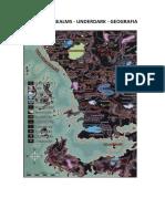 Forgotten Realms D20 - Underdark - Geografia - Biblioteca Élfica