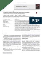 Correlations Between Skin Blood Perfusion Values and Nailfold
