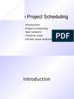 Software Project Scheduling