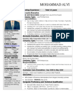 One Page Resume