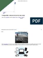 Compartilhe a Conexão de Internet Através de Um Script