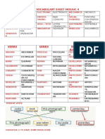 Unit 3 Vocabulary Sheet Mosaic 4