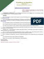Decreto Nº 8737