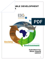 Sustainable Development in Africa