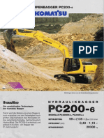 PC200-6 liflet