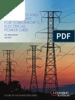 Tomorrows Electrical Power Grid