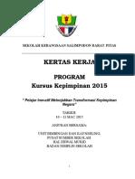 Kertas Kerja Kepimpinan Skesda 2015