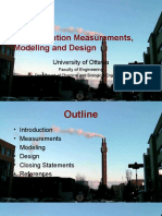 Light Pollutions, Measurements, Modelling and Design