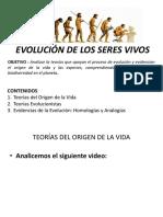 Clase Evolucion