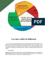 Los Cinco Estilos de Influencia