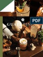 Colaboración en la revista Guatedining - Edición 34 - Diciembre 2016