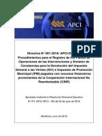 Caratula + RDE + Indice + Directiva Final