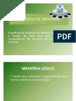 gerenciade memoria