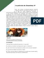 Ficha Sobre La Película de Steamboy Para 4º de La ESO